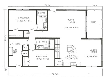 small house open floor plan