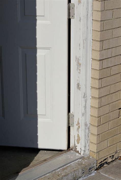 Garage Door Frame Repair Best 25 Painted Exterior Doors Ideas On