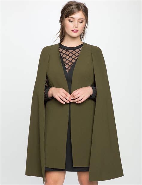 19664 Black Cape Blazer Coat best 25 cape jacket ideas on cape white cape