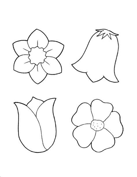 fiori da colorare e stare primavera disegni da colorare per bambini