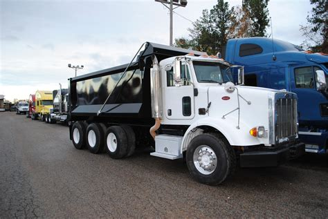 peterbilt dump truck peterbilt dump trucks for sale