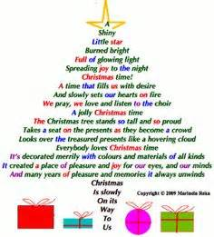 christmas tree poems for children 1000 images about poams on merry poems inspirational poems and shape poems