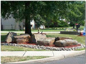 Landscape Rock Around Trees Landscaping With Rocks For Drainage 187 Design And Ideas