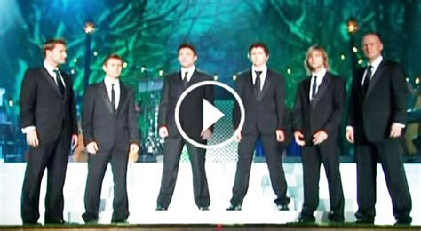celtic thunder puppy they got up on stage and sang quot amazing grace quot when they finished this will give you
