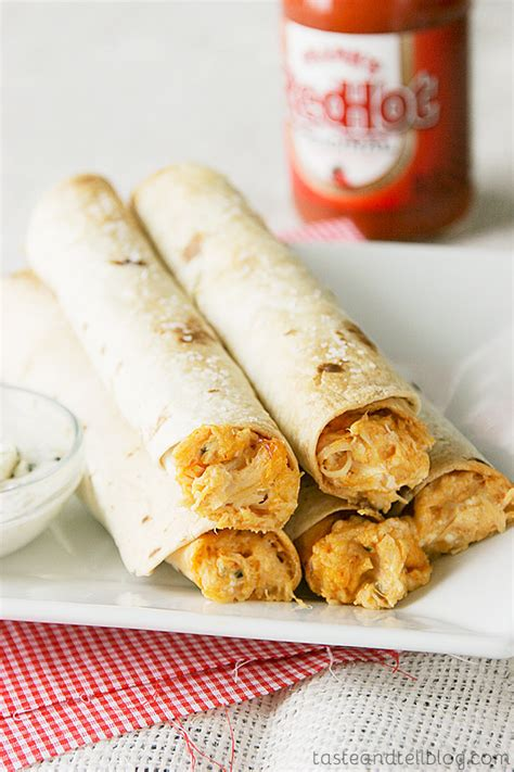 tastes of clemson blue cheese books baked buffalo chicken taquitos recipe from the pintrest