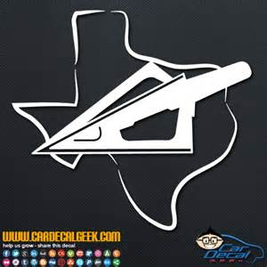 texas bowhunting arrow car truck decal hunting decals bowhunter arrow car truck decal hunting decals