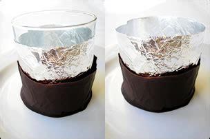 Bicchieri Di Cioccolato Bicchieri Di Cioccolato Ripieni Di Mousse Di Fragole E