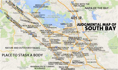 map of bay california judgmental maps