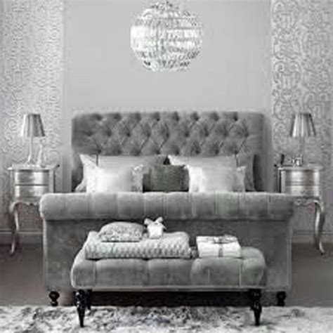 grey bed dove gray home decor velvet tufted grey bed sparkle silver gray