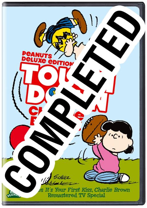 Super Bowl Giveaways - peanuts deluxe edition touchdown charlie brown giveaway