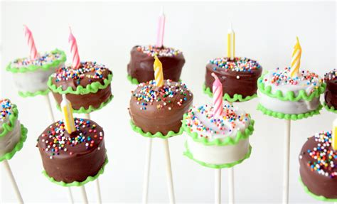 pop birthday recipes n such birthday cake brownie pops