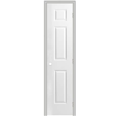 18 inch doors interior shop reliabilt 6 panel hollow textured molded