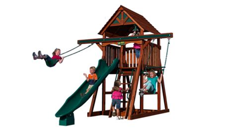 compact backyard playset space saver sle configuration kids san francisco by terra kids outdoor