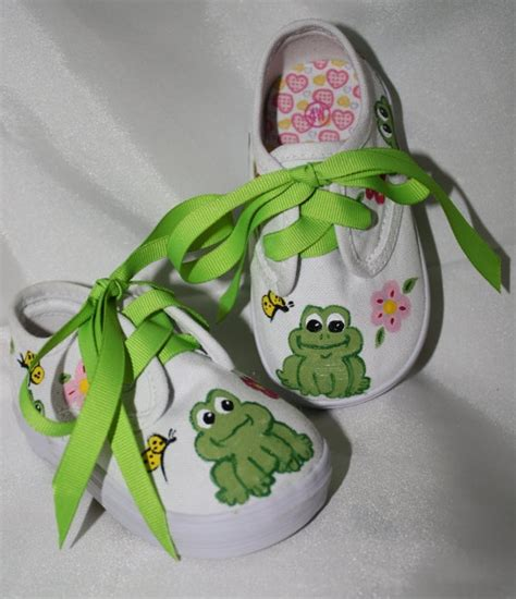 Etsy Crafty by Painted Shoes By Theblueeyedwren On Etsy 35 00