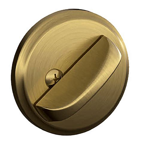 Door Knobs And Deadbolts by Shop Schlage J Antique Brass Deadbolt At Lowes
