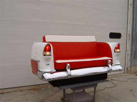 chevy couch new retro cars restored classic car couches sofas and