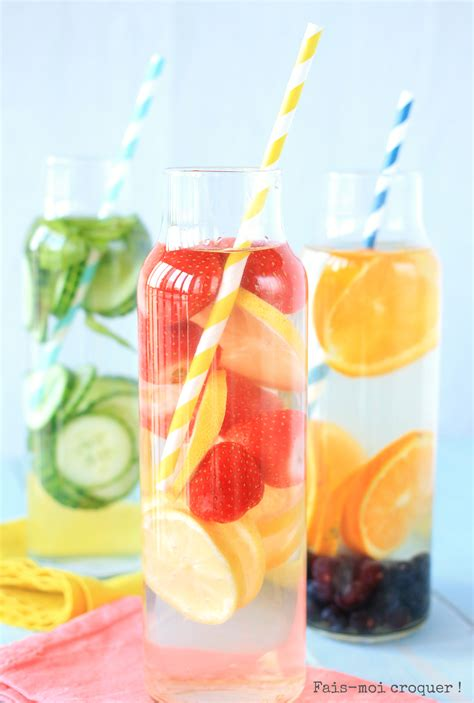 Strawberry Orange Detox Water by Mousse Fais Moi Croquer