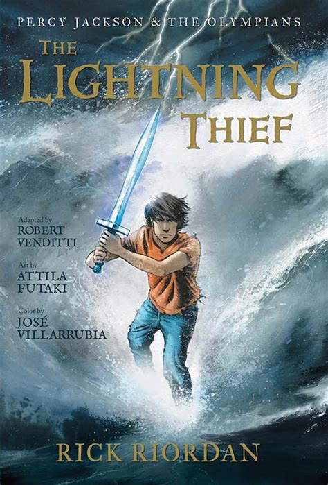 The Lighting Thief by A Sneak Preview Of The Lightning Thief Graphic Novel Wired