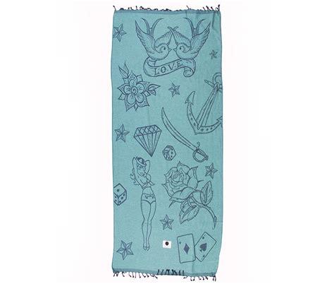 printer voor tattoo blauwe hamamdoeken ibicover strandlakens handdoeken mannen