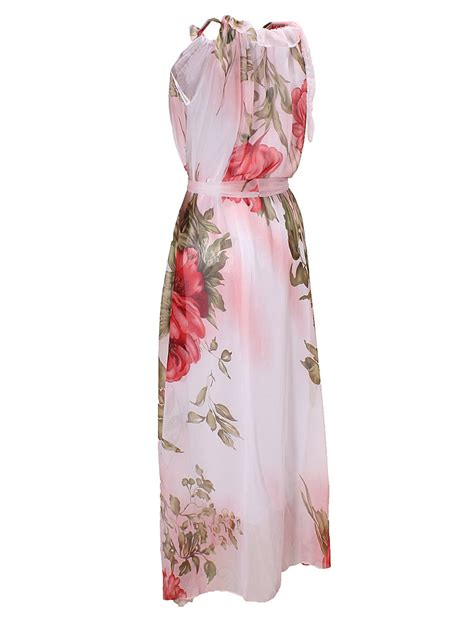 Fr Hem Gabby 69 000 les femmes volants boh 232 me grande ourlet mousseline fleur maxi robe longue 17 14 sold out