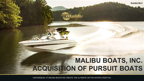 malibu boats wayne wilson mbuu malibu boats inc form 8 k current report