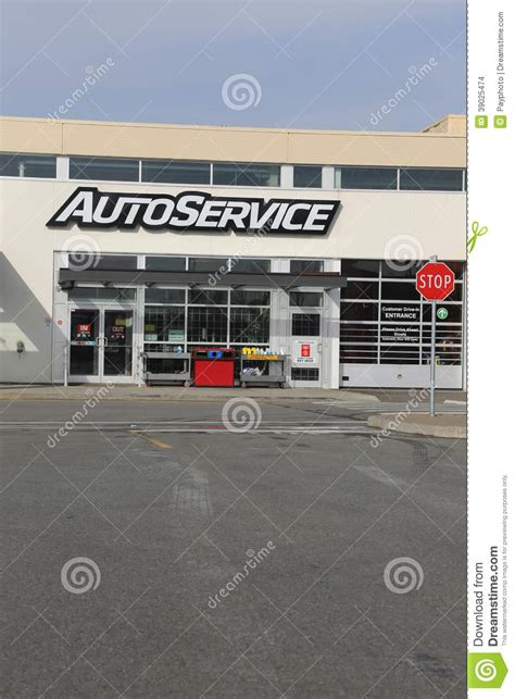 Canadian Tire Car Port by Auto Service Editorial Stock Image Image 39025474