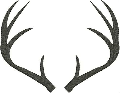 antler template search results for deer antler template calendar 2015