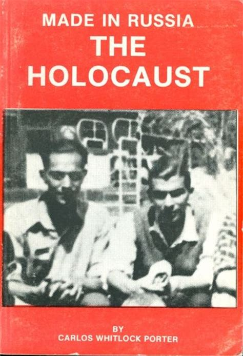 holocaust picture book made in russia the holocaust by carlos porter used