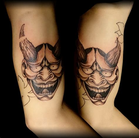 hannya mask tattoo deviantart hannya mask tattoo by stevetoth89 on deviantart
