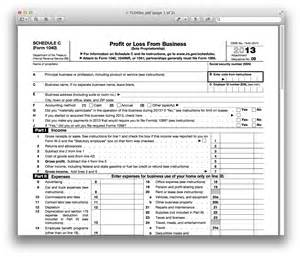 schedule c template 2014 individual income tax return forms