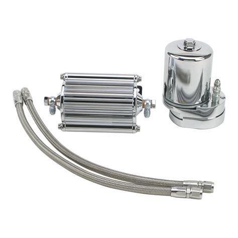 goole hier oil feuling oil filter cooler chrome downtown american