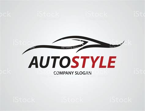 Auto Logo Design Free by Automotive Car Logo Design With Abstract Sports Vehicle
