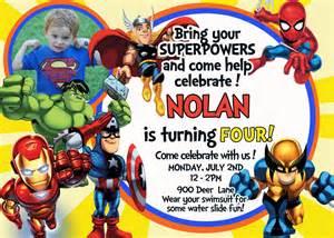 superhero birthday invitation templates cloudinvitation com