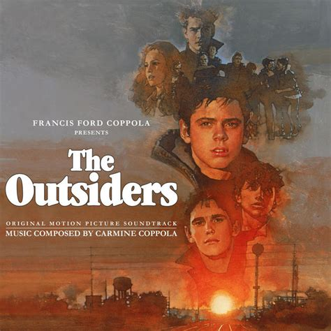the themes of the outsiders the outsiders original motion picture soundtrack by