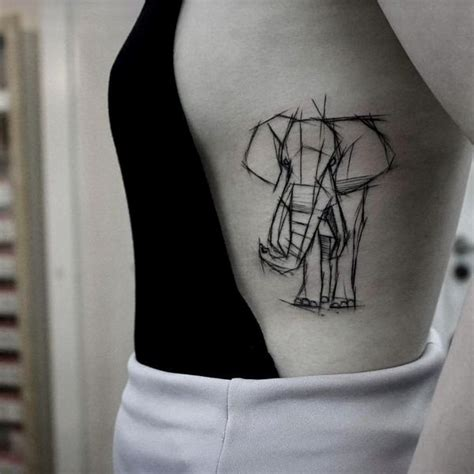 tattoo elephant sketch elephant tattoo designs best ideas meaning