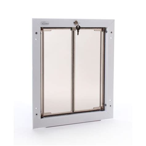 plexidor performance pet doors 11 75 in x 16 in large