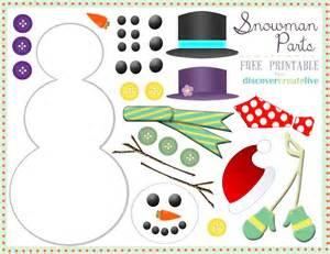 Printable Snowman Faces » Home Design 2017