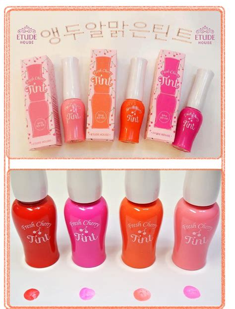 Etude Fresh Cherry Tint Di Counter etude house fresh cherry tint shopinee