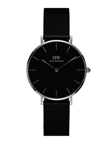 Danielwellington New Collection Classic Black Ashfield Original kendall jenner looks ready for season in a daniel wellington ashfield