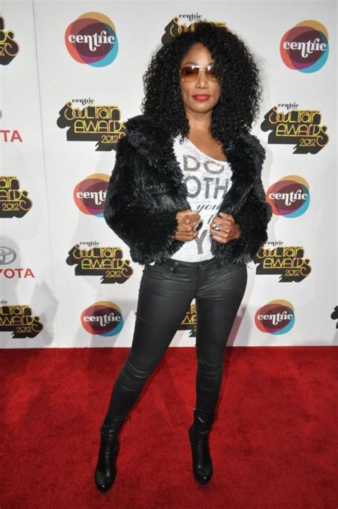 Karin White carpet arrivals soul awards 2012 singer karyn