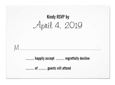 Wedding Invitation Number Of Guests Attending by Wedding Reply Card Wording Ideas