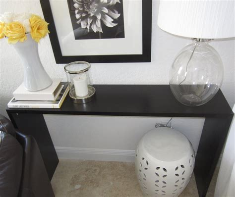 ikea console hack the console tables ikea for stylish and functional storage