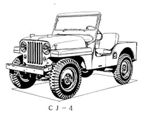 army jeep drawing jeep serial production numbers