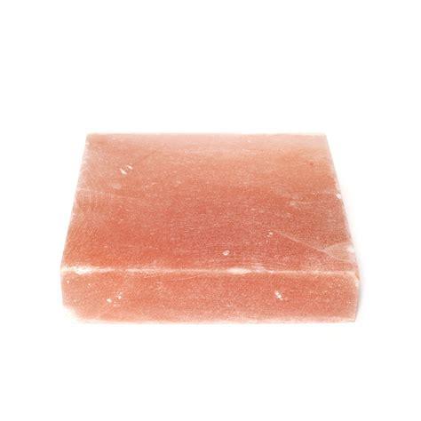 himalayan salt l home goods himalayan salt slab square 9 quot l x 9 quot w black tai salt