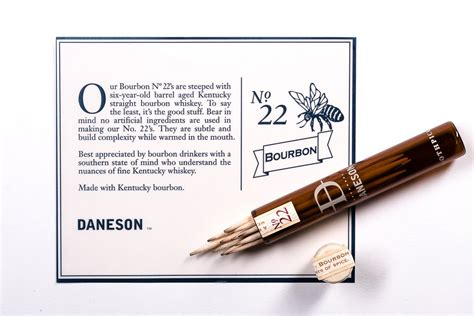 The Ultimate Bar Toothpicks by Daneson Toothpicks Whiskey Soaked Flavored Toothpicks