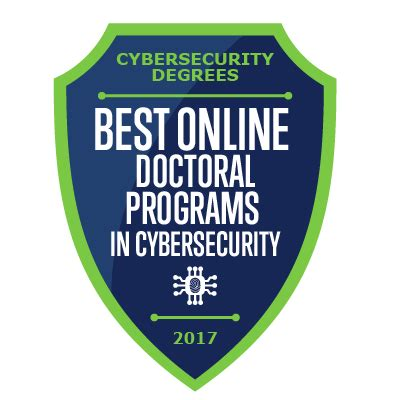 Doctorate In Security the best doctoral degree programs in cyber security