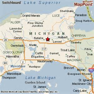michigan to florida map newberry michigan