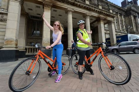 Free Bike Giveaway - free ride for lucky commuters as city gives away 5 000 bikes birmingham post
