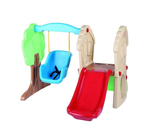 little tikes baby swing and slide set best small swing sets for small yards reviews top kids gear
