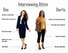 Women dress interview attire dos and don ts